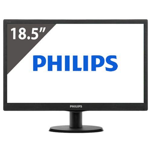 "monitor led Philips 18,5"" vga vesa modelo 193V5LSB2"