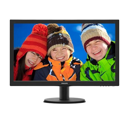MONITOR LED PHILIPS 23,6 FULL HD HDMI DVI 243V5QHABA