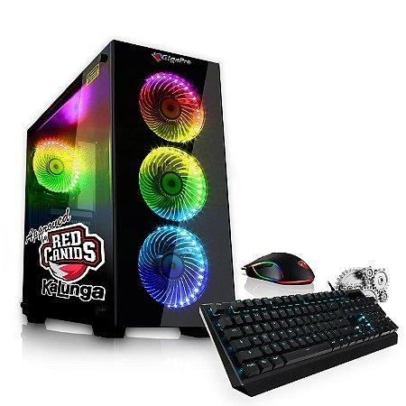 PC GigaPro Gamer Pentium Dual Core 8GB SSD240 DRK Nvidia GT1030 GDDR5 W10