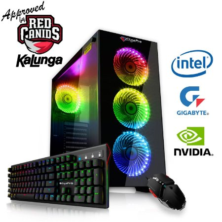 PC GigaPro Gamer Intel Core i5 16GB SSD480 DRK Nvidia GTX1660TI 6GB GDDR6 W10