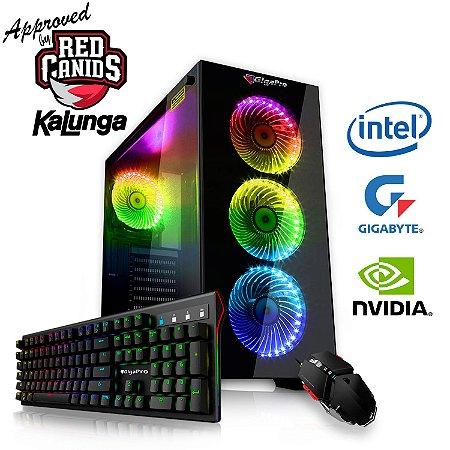 PC GigaPro Gamer Intel Core i5 32GB SSD1TB DRK Nvidia RTX2080 8GB GDDR6 W10