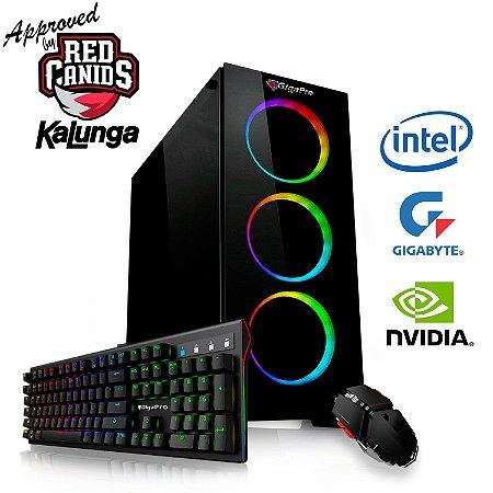 PC GigaPro Gamer Intel Core i7 9TH 16GB SSD480 DRK Nvidia RTX2070 8GB GDDR6 W10