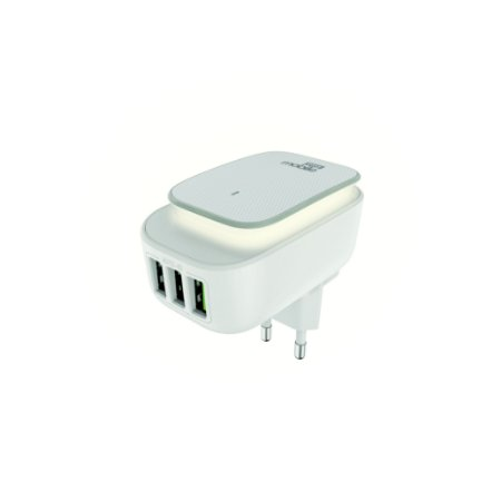 CARREGADOR LIGHT POWER 3.4 BRANCO