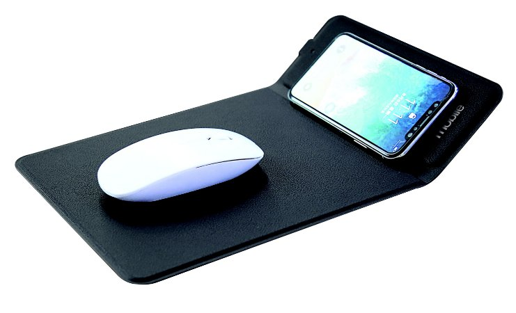 CARREGADOR POWER MATE MOUSE PAD PRETO
