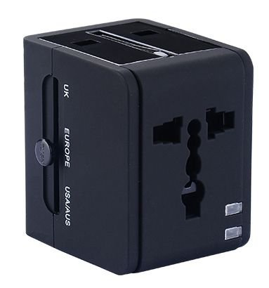 CARREGADOR TRAVEL POWER PRETO