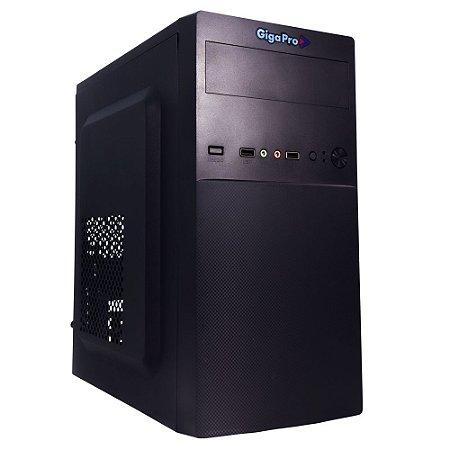 PC GIGAPRO ONE CELERON DUAL CORE 4GB SSD240GB WIN 10 C/ MOUSE E TECLADO COM FIO E MOUSE PAD 30x20cm