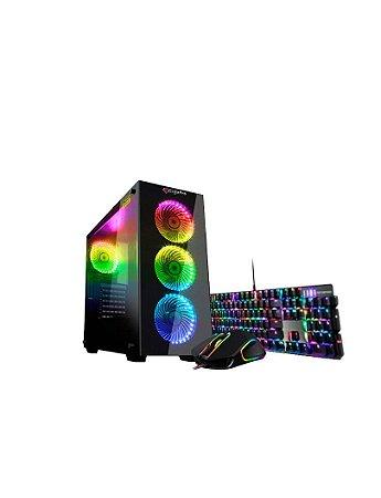 PC GigaPro Gamer Intel Core i3 8GB SSD512GB DRK Nvidia GTX1650 4GB GDDR5 W10