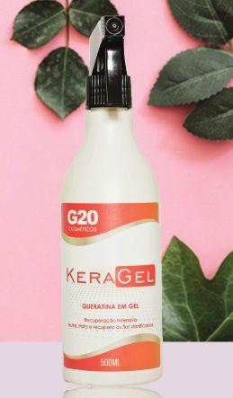 Keragel - Queratinta em Gel - G20 - 500ml