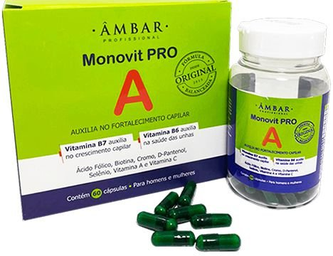 Cápsulas Monovit Pro A