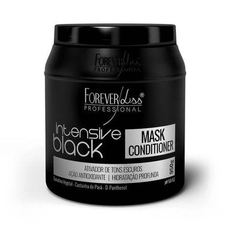 FOREVER LISS TONALIZANTE MASCARA INTENSIVE BLACK 950 GR