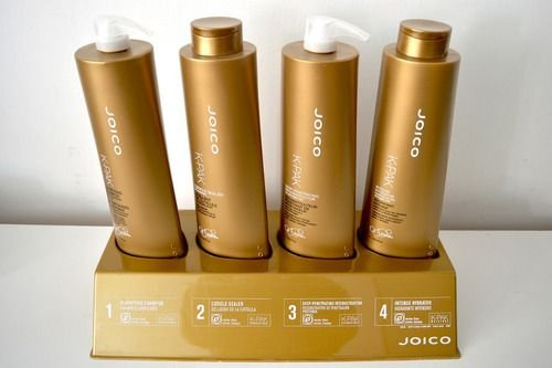 KIT JOICO K-PAK HAIR REPAIR 4 passos 1 Litro - Kit Completo