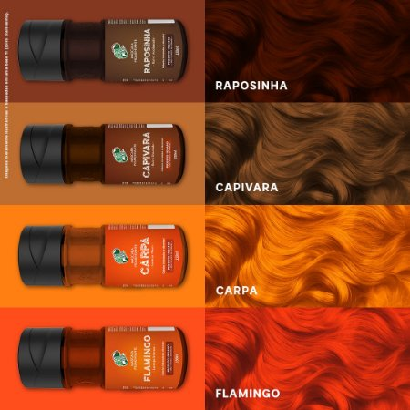 Kamaleão Color - 150ml - Ruivos