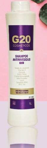 Shampoo Anti-Resíduo 1 Litro G20
