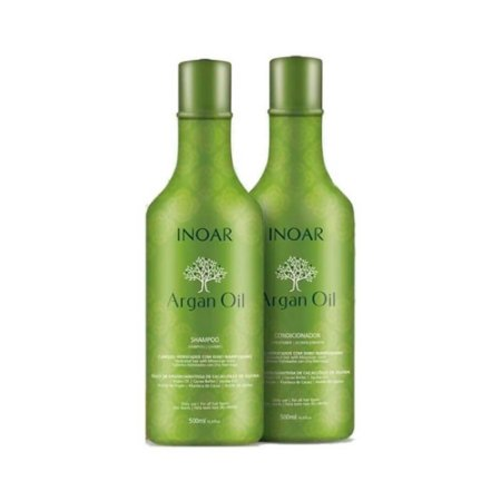 KIT ARGAN SH+ COND INOAR 500ML