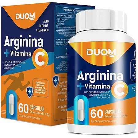 Arginina + Vitamina C 60caps Duom