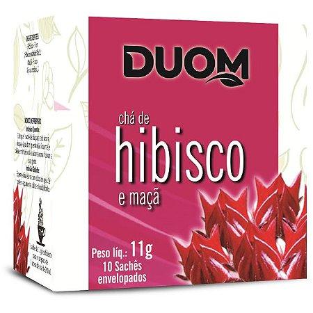 Chá de Hibisco com Maçã 10 sachês Duom