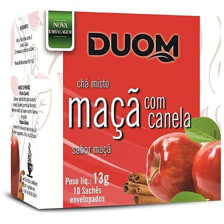 Cha de Maça e Canela 10 saches Duom