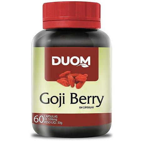 Goji Berry 500mg 60caps Duom