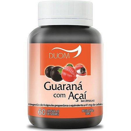 Guarana com Acai 500mg 60caps Duom