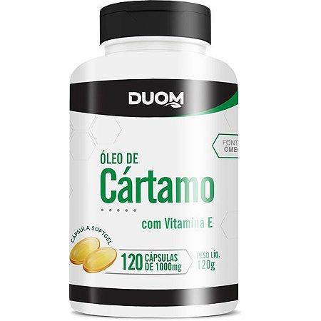 Oleo de Cartamo Vit E 1000mg 120caps Duom