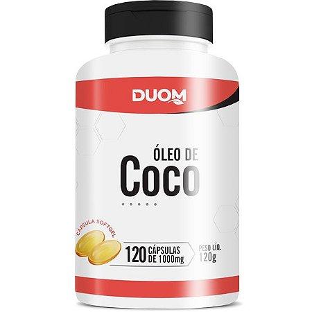 Oleo de  Coco 1000mg 120caps Duom