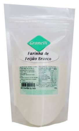 Farinha de Feijao Branco 150g Granelli