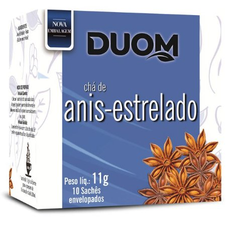 Cha de Anis Estrelado 10 saches Duom