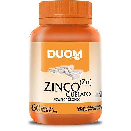 Zinco (1 ao dia) 60caps Duom