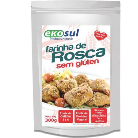 Farinha de Rosca Sem Gluten Temperada 300g