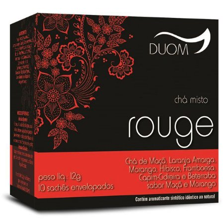Chá Misto Rouge 10 saches Duom