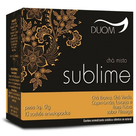 Cha Misto Sublime 10 saches Duom