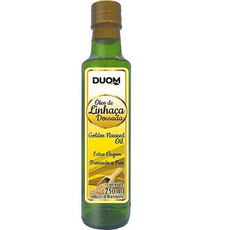 Oleo de Linhaca Dourada Prensado a Frio 250ml Duom
