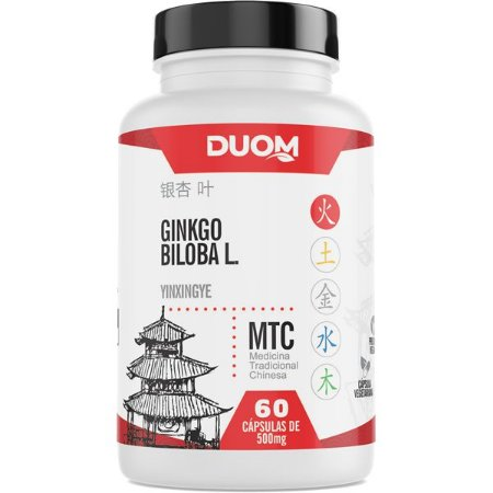 Ginkgo Biloba MTC 60caps Duom