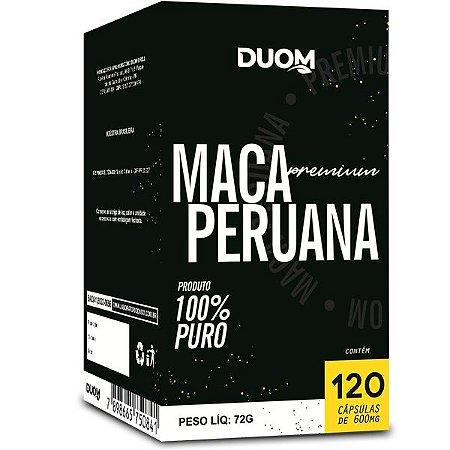Cartucho Maca Peruana Premium 120caps Duom