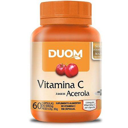 Vitamina C (1 ao dia) 60caps Duom