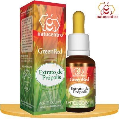 Extrato de Propolis GreenRed (verde-vermelha) 30ml Natucentro