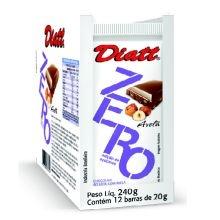 Chocolate Zero Acucar Avela - Display 12un