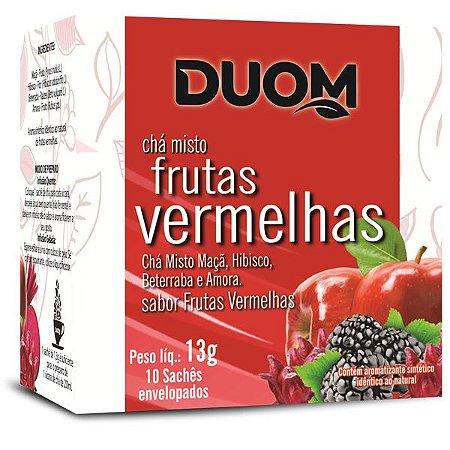 Cha de Frutas Vermelhas 10 saches Duom