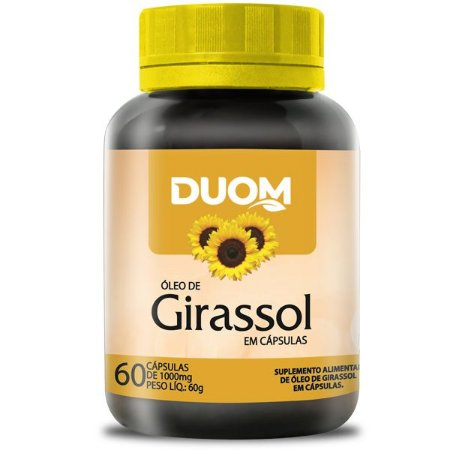 Óleo de Girassol 60caps Duom