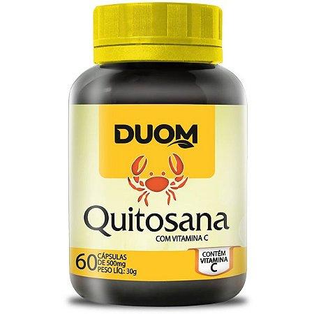 Quitosana com Vitamina C 500mg 60caps Duom