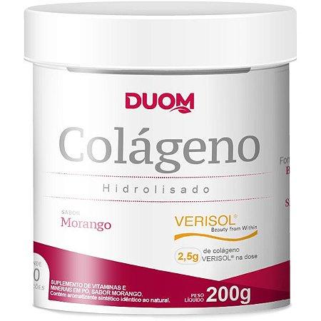 Colageno Verisol 200g Sabor Morango Duom