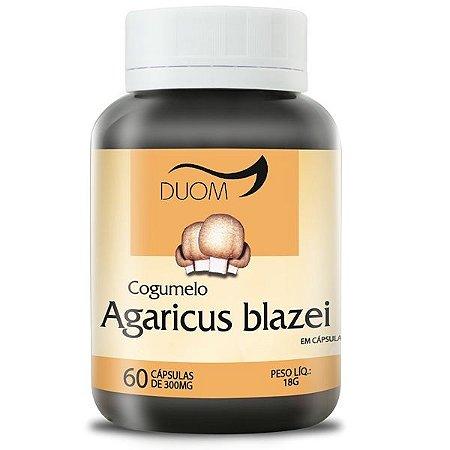 Cogumelo Agaricus blazei 300mg 60caps Duom