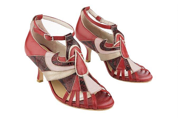 Sapato Paris Vermelho