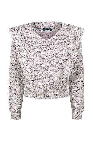 Blusa Tweed Vinho
