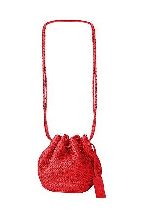 Bolsa Saquinho Tresse Vermelha