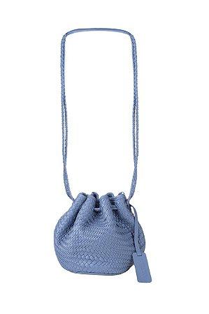 Bolsa Saquinho  Tresse Azul