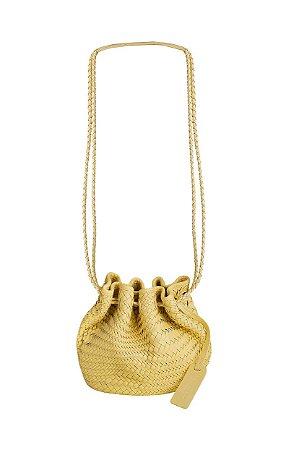 Bolsa Saquinho Tresse Amarelo