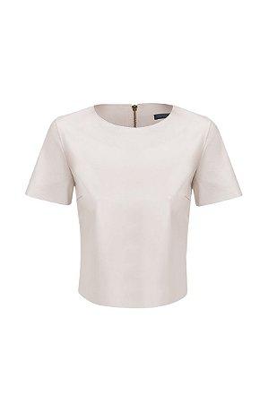 Camiseta Cropped Off White