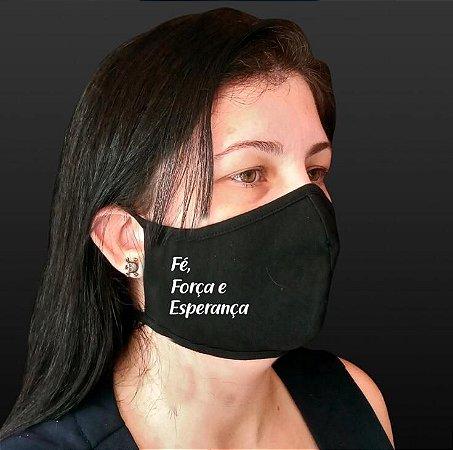 Máscara de Proteção em Algodão Lavável Com Estampas (2 UNIDADES)