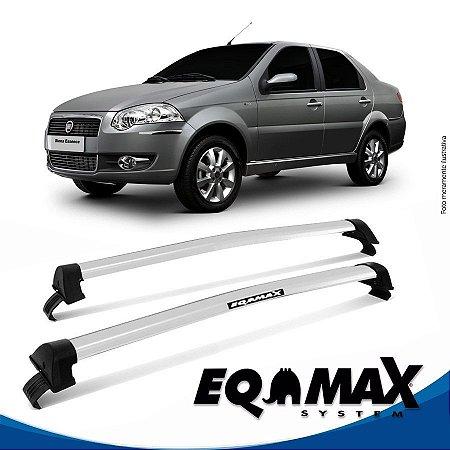 Rack Eqmax Fiat Siena EL Essence 08/14 New Wave prata
